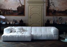 "jessicasignellknutsson: "" The classic Strips sofa from Arflex by Cini Boeri in 1972. """
