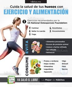 Hábitos Health Coaching | Cuide la salud de su sus huesos con.. ejercicio y alimentación Health Coach, Vegan Recipes, Vegan Food, Coaching, Blog, Gym, Healthy, Natural, Control