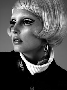 Inspired by the rebellious beauty of the 1960s