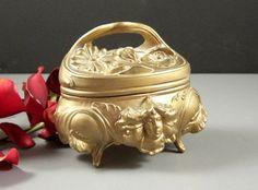 Antique Art Nouveau Jewelry Casket // Victorian by Successionary, $45.99