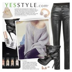 """""""YesStyle Polyvore Group: """"Show us your YesStyle"""""""" by vn1ta ❤ liked on Polyvore featuring Burberry, GUESS, Beauty and yesstyle"""