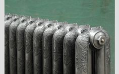 An original ornate cast iron radiator - Reclaimed Cast Iron Radiators - LASSCO - England's Prime Resource for Architectural Antiques, Salvage and Curiosities