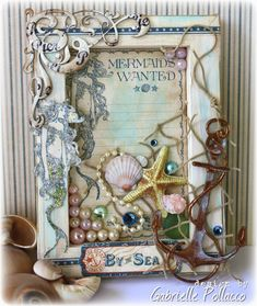 Such a Pretty Mess: Guest Designer for Graphic 45!! Doing this wit a picture of my daughter and her friend at the sea shore.