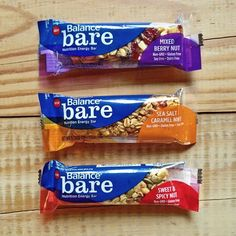Bars to bare you can actually SEE the nutrition.