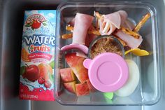 Buggie and Jellybean: A week of lunches with Applegate Ham & Cheese Hitchhikers} Fruit Punch, Ham And Cheese, School Lunch, Jelly Beans, Lunch Ideas, Lunches, Kids Meals, More Fun, Good Food