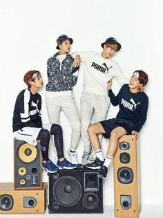 Kim Taehyung, Namjoon, Jin and J-Hope ♥