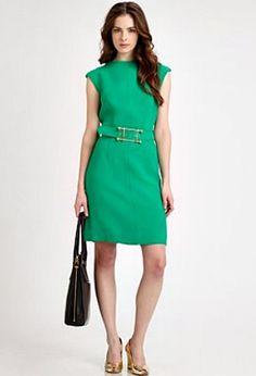 vestidos para oficina elegantes - Buscar con Google