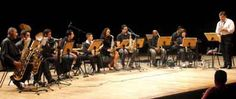 Banda Sinfônica do Conservatório Municipal na Tenda do Bosque Maia