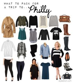 DIY FATSHION - how to pack for a two week trip, what to pack, travel light, pack for winter trip, packing, travel, packing for philly, psblogger, fatshion, plus-size, plus size blogger