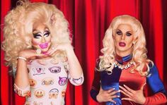 My season 7 favorites trixie mattel and katya drag race