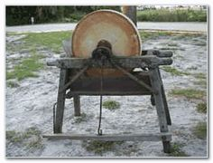 Antique Grinding Stones Google Search