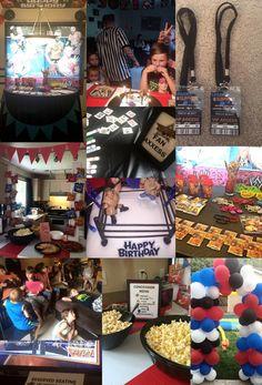 WWE Kids Birthday Party VIP Badge Pass by BellaEventsStore on Etsy  #wwe #birthday #party #decorations #custom #boy #birthday #banner #invite #invitations