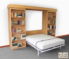 "This kit does not require any type of ""Bunkie"". Hardware only, does NOT include any wood or cabinetry.For Complete Custom Beds in Arizona, click here.  There is a new generation of Murphy beds now called the NEXT BED ™. The NEXT BED is brand new and has some excellent modern features with"