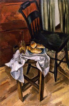 Max Weber: Black Chair (1922)
