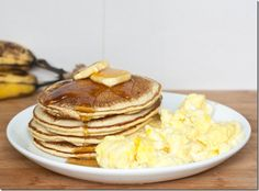 Chickpea Flour Pancakes | The Wannabe Chef