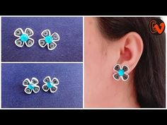 12 Awesome Paper Quilling Jewelry Designs To Start Today – Quilling Techniques Quilling Studs, Paper Quilling Earrings, Paper Quilling Patterns, Neli Quilling, Bell Paper, Quilling Techniques, Earring Tutorial, Cardboard Crafts, Paper Beads