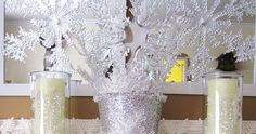 Sparkling Winter Mantel. Do you go from Christmas decor back to normal, or do you celebrate the Winter Season by decorating with wintry ...