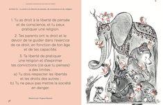 Livre : Déclaration Universelle des Droits de l'Enfant illustrée   MilK - Illustration by Yrgane RAMON www.yrganeramon.tumblr.com