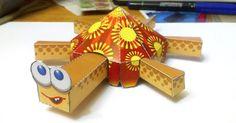 Cette tortue en papertoy est une création du papertoys maker russe Anton Narod. Une drôle de bouille et une carapace totally 'sunshine' pour égayer vos après-midi les plus ternes. En plus, elle bouge ses jambes quand on tire sur laLire la suiteTortue en Papertoy de Anton Narod