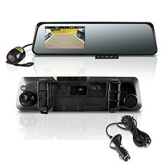 Pyle Rear View Mirror Dual Car Camera DVR Backup Camera Full HD 1080P Dash Cam, Night Vision(2 Camera Recording) By James Fleming | July 1, 2015 - 5:48 am | Backup camera 12 Comments