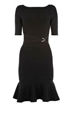 Little black dress Cheap Designer Clothes, Frill Skirts, Trendy Clothes For Women, Dressed To Kill, Junior Outfits, Karen Millen, I Love Fashion, Types Of Fashion Styles, Knit Dress