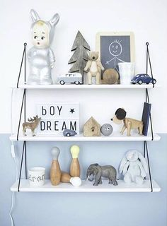 Babou shelves by Rose in April on Merci Bisous