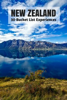 LOTR, Bungy jumping, Narnia, zorbing, glaciers, hiking and the list goes on. New Zealand has so many bucket list activities that you will have a list of things to do in New Zealand you will never want to leave. Remember, you probably don't have to if you're creative enough :)