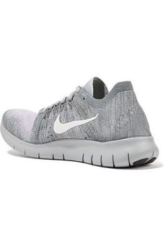 finest selection 2ed6e 767aa Nike - Free Rn Flyknit Sneakers - Light gray Nike Free, Nike Air Max,