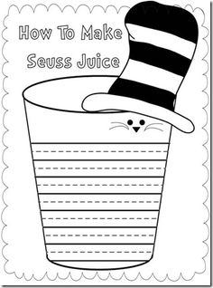 Seuss Juice to go with green eggs and ham