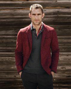 Gucci Tweed Duke Jacket, Wool-Melange Long-Sleeve Polo, Stretch Flannel Riding Pants & Botanic-Print Scarf - $2,200 - $924