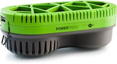 POWERTREKK. Simply insert a fuel pack, add water, and the cell will spring to life, charging devices over USB without ever needing a wall charge.