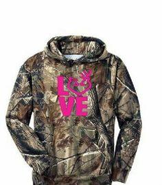 Browning camo hoodie. I want this! :)looooove it!!