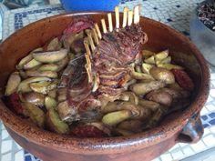 Autour d'un carré d'agneau http://figueetsardine.wordpress.com/2012/09/17/autour-dun-carre-dagneau/