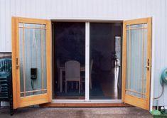 Escape double screen door | Larson Storm Doors Let in the breeze ...