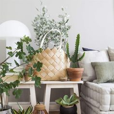 La Maison d'Anna G.: Decorating with natural materials