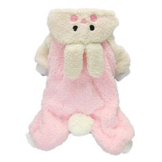 Adorable Bunny Halloween Dog Costumes Dog Hoodie Jumpsuit Dog Coat Pet Dog Clothes,Pink,M - http://www.thepuppy.org/adorable-bunny-halloween-dog-costumes-dog-hoodie-jumpsuit-dog-coat-pet-dog-clothespinkm/