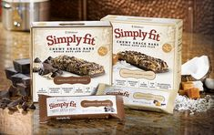 Omega's, Fiber, Whole Grain, & Protein...Oh My! And only 140 calories! A Tasty, Healthy Alternative to High-Carb, Sugary Snack Bars. Love these!