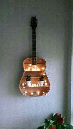 Gitaar decoratie gitare decoration country