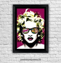 "Poster Madonna ""Pop Virgin"""