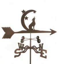 Weathervanes, Copper Weathervanes, Weather Vanes, Lightning Rods and Ornaments: Coyote