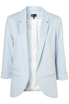 Pale Blue Blazer !