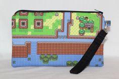 Extra Large Legend of Zelda Map Wristlet by RedShirtCreations #zelda #link