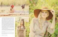 Granville Millinery Co featured in Belle Armoire Winter 2014 - Stampington