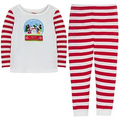 ''My First Christmas'' Minnie and Mickey Mouse Set for Infants -- 2-Pc.