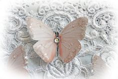 This listing is for 3 beautiful Sweet Nothings Butterflies They make a wonderful…