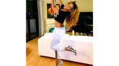 #Healthies: Celebrity Fitness on Instagram | Necole Bitchie @justnecole