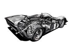 1969 312P Barchetta