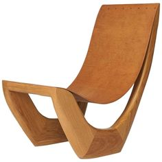 Side Chair by Kaspar Hamacher   From a unique collection of antique and modern side chairs at https://www.1stdibs.com/furniture/seating/side-chairs/
