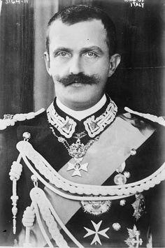 król Włoch Wiktor Emmanuel III