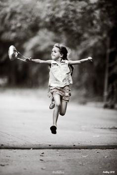 I just love this photo, it shows the essence of a happy childhood. I was so lucky. Jumping For Joy, Inner Child, Beautiful Children, Little People, Belle Photo, Black And White Photography, Cute Kids, Laughter, Have Fun